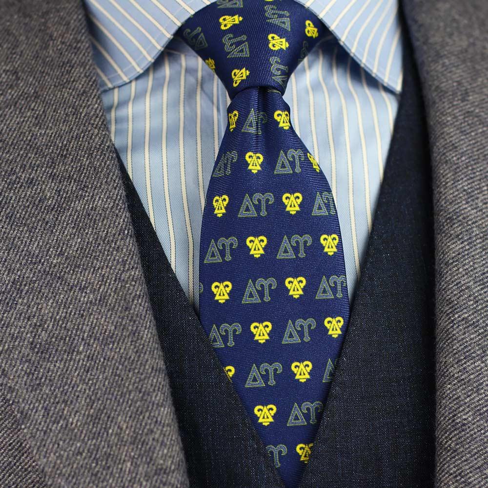 Delta Upsilon Men's Necktie Styled