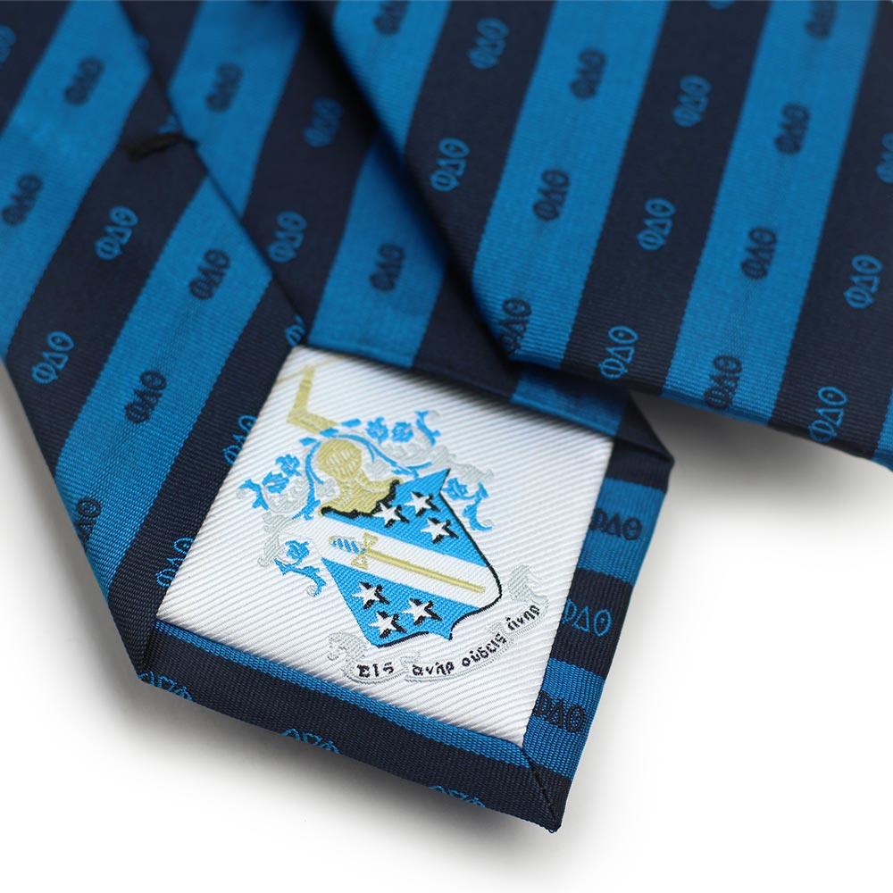 Phi Delta Theta Men's Necktie Back