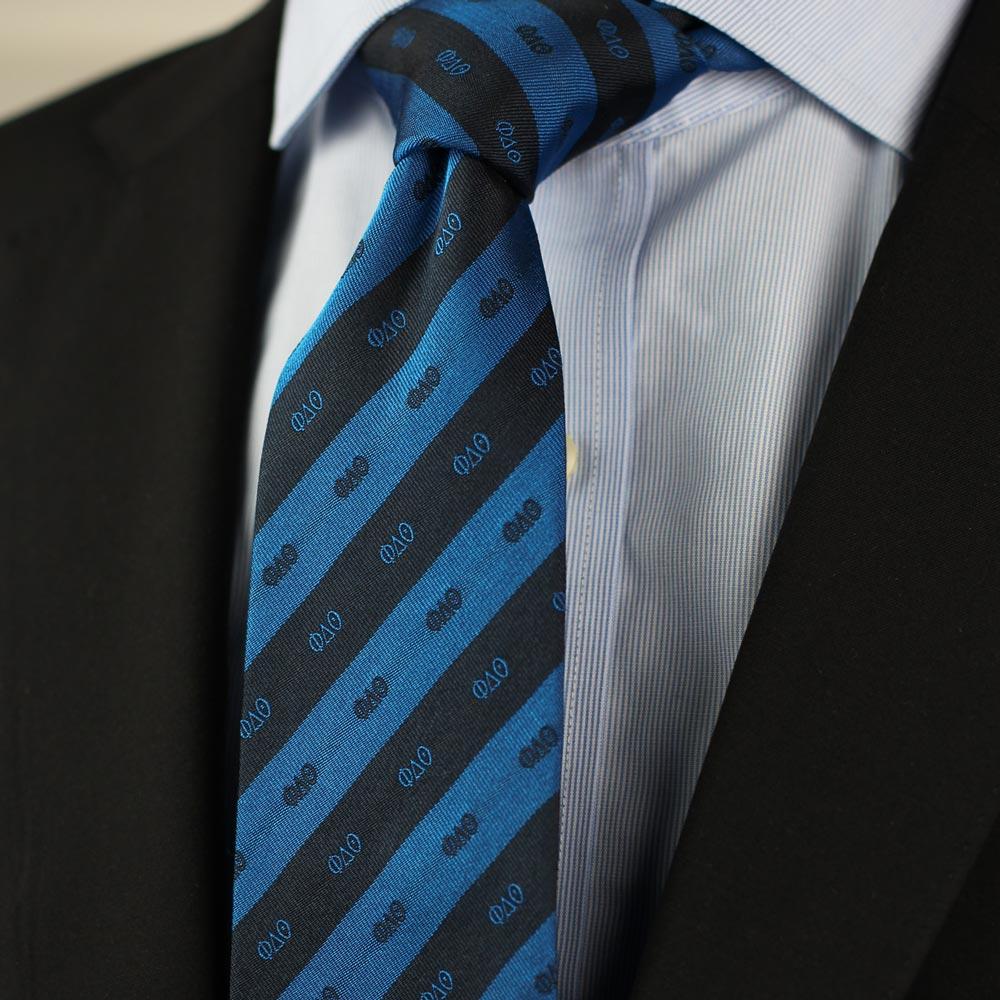 Phi Delta Theta Men's Necktie Styled