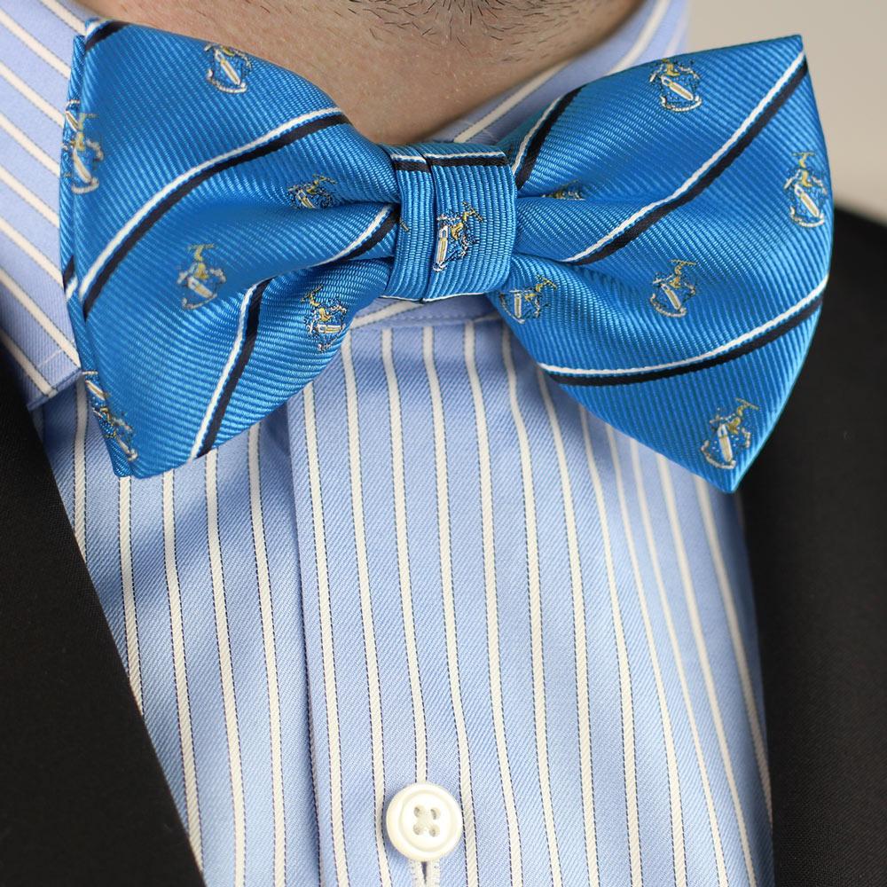 Phi Delta Theta Men's Pre-Tied Bow Tie Styled