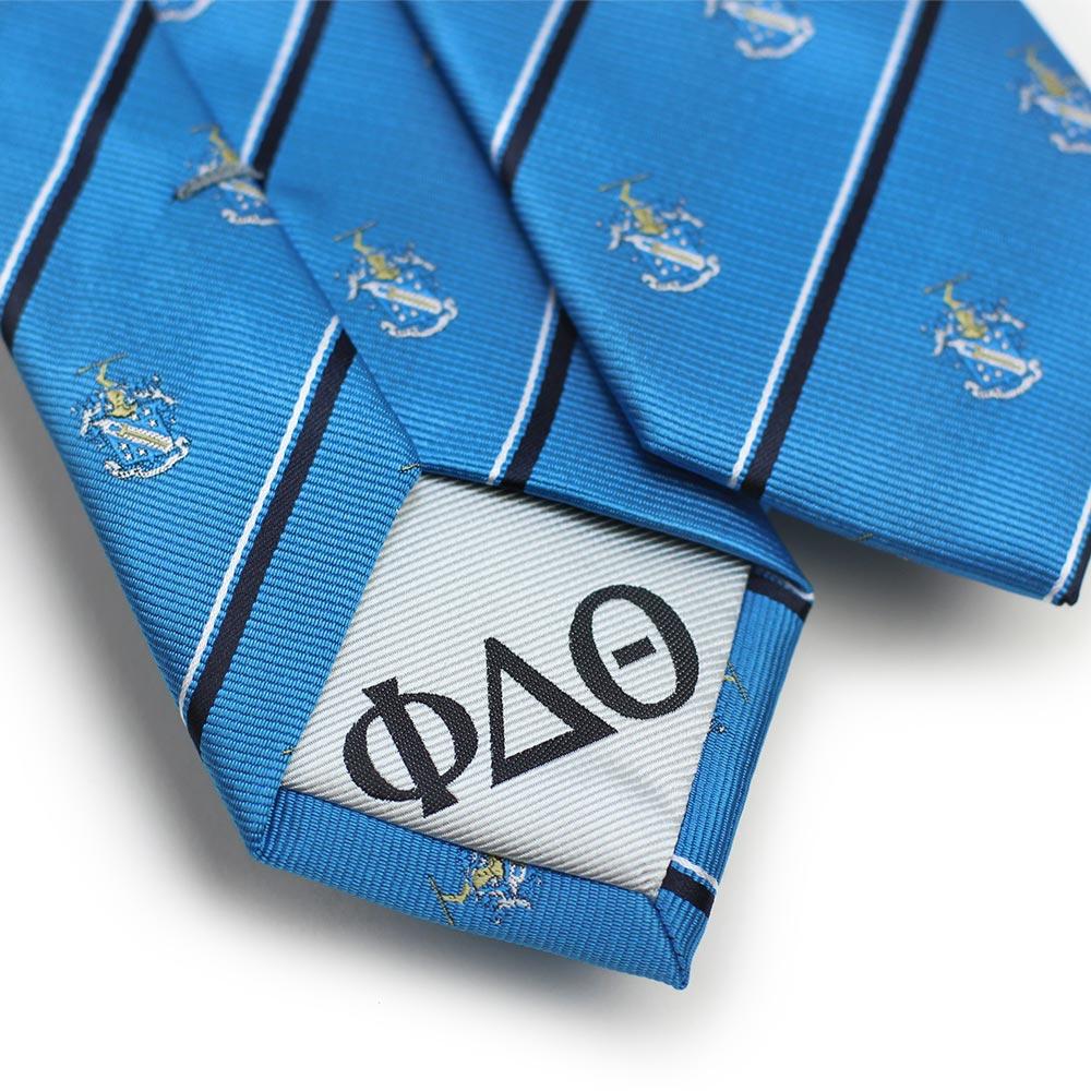 Phi Delta Theta Men's Skinny Necktie Back