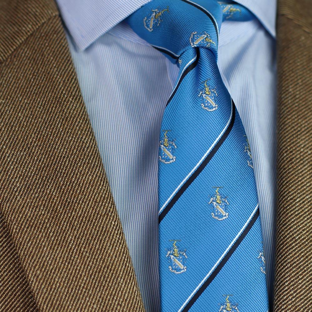 Phi Delta Theta Men's Skinny Necktie Styled