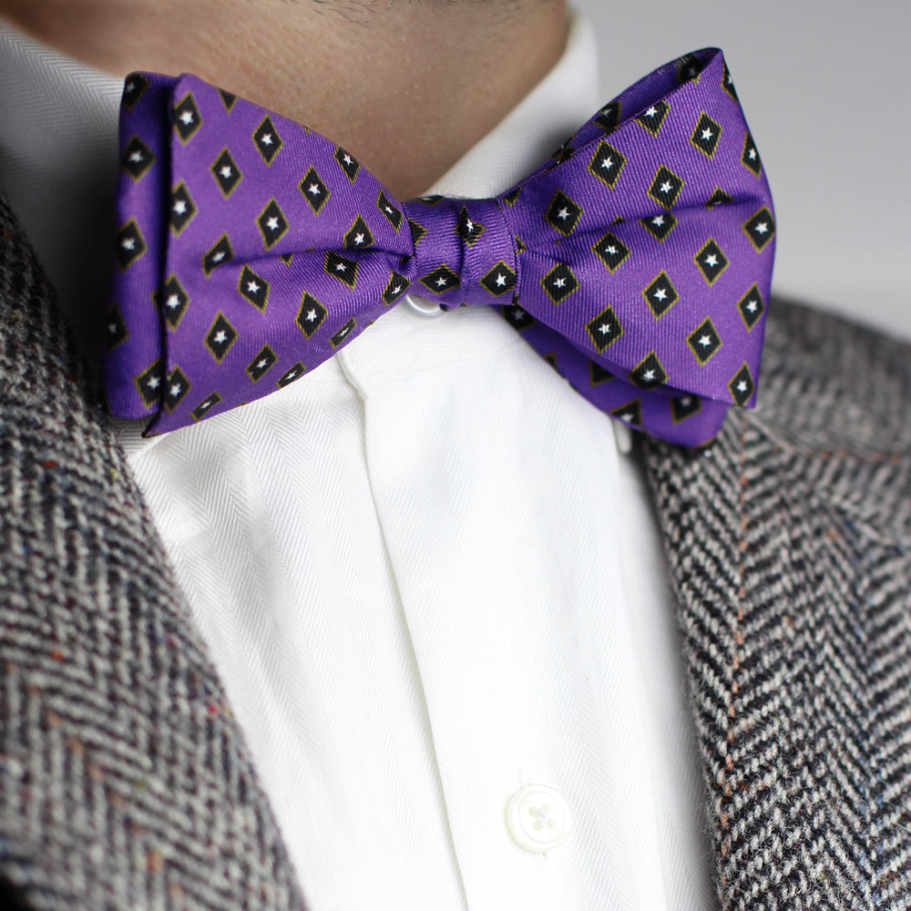 Phi Gamma Delta Men's Bow Tie Styled