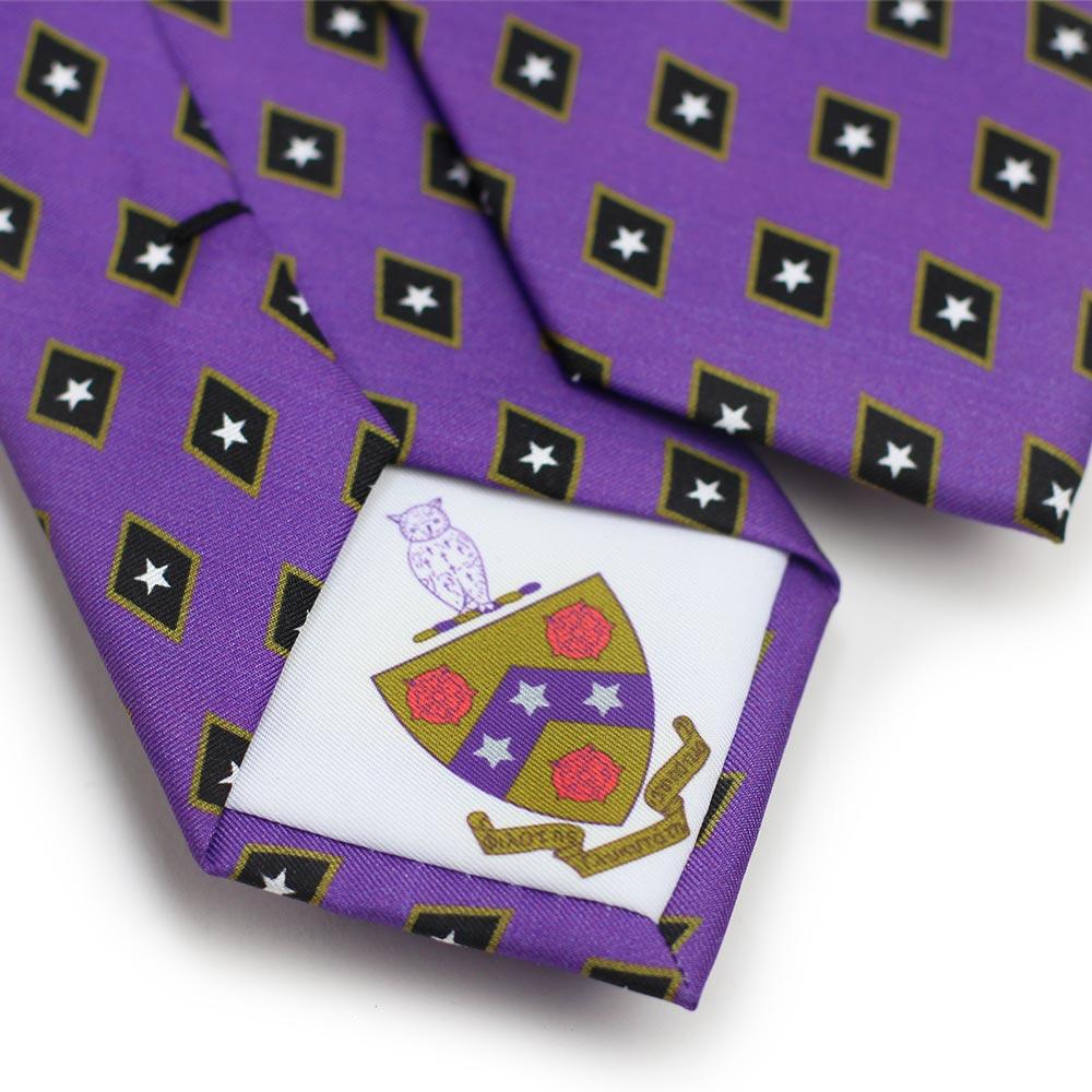 Phi Gamma Delta Men's Necktie Back