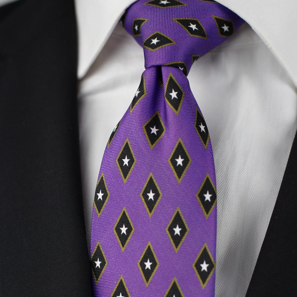 Phi Gamma Delta Men's Necktie Styled