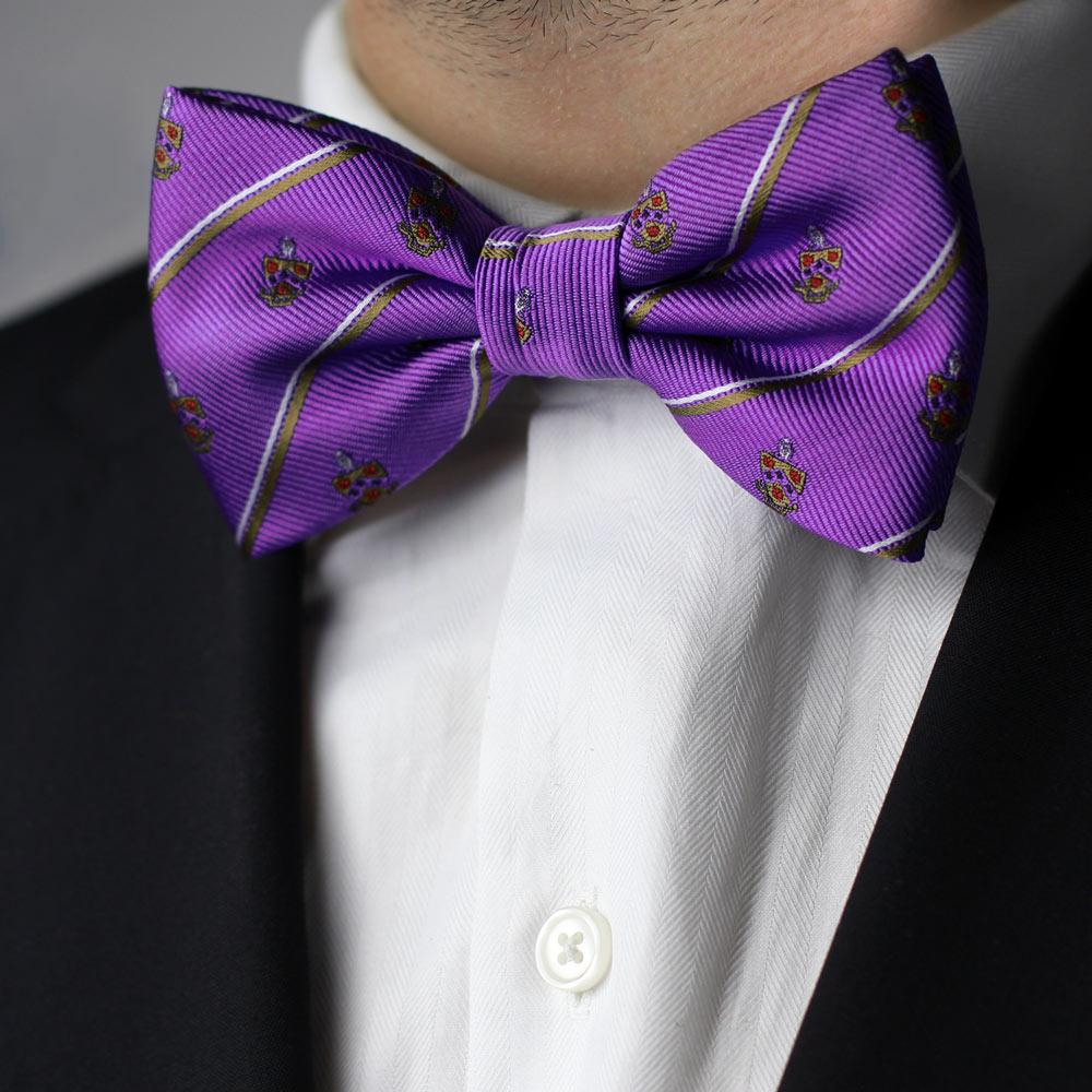 Phi Gamma Delta Men's Pre-Tied Bow Tie Styled