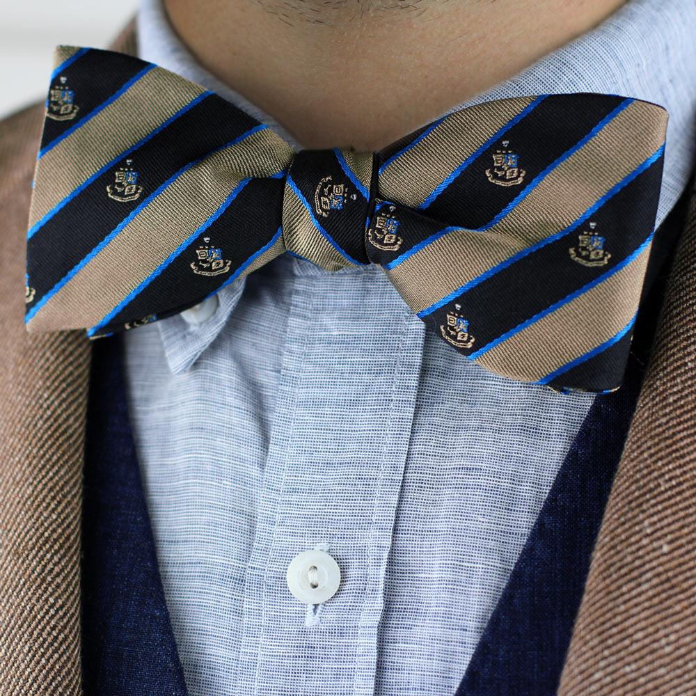Phi Kappa Sigma Men's Bow Tie Styled