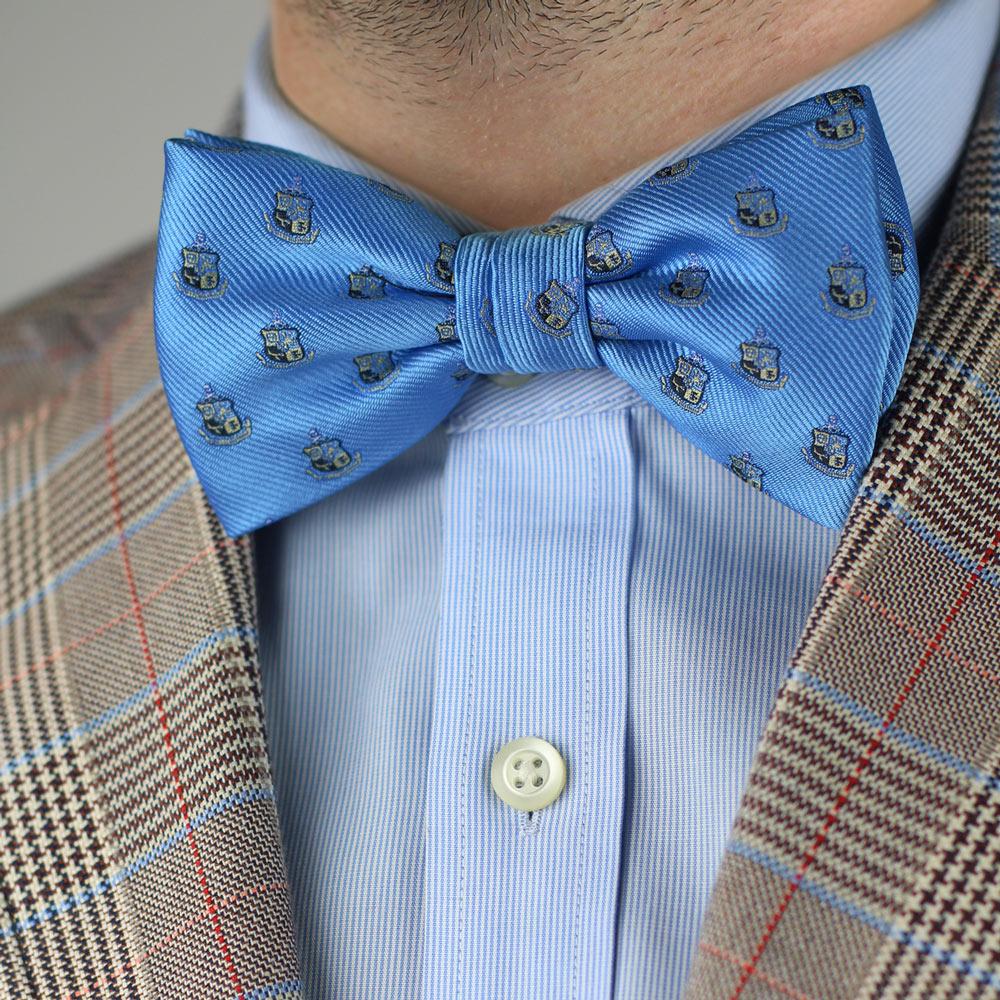 Phi Kappa Sigma Men's Pre-Tied Bow Tie Styled