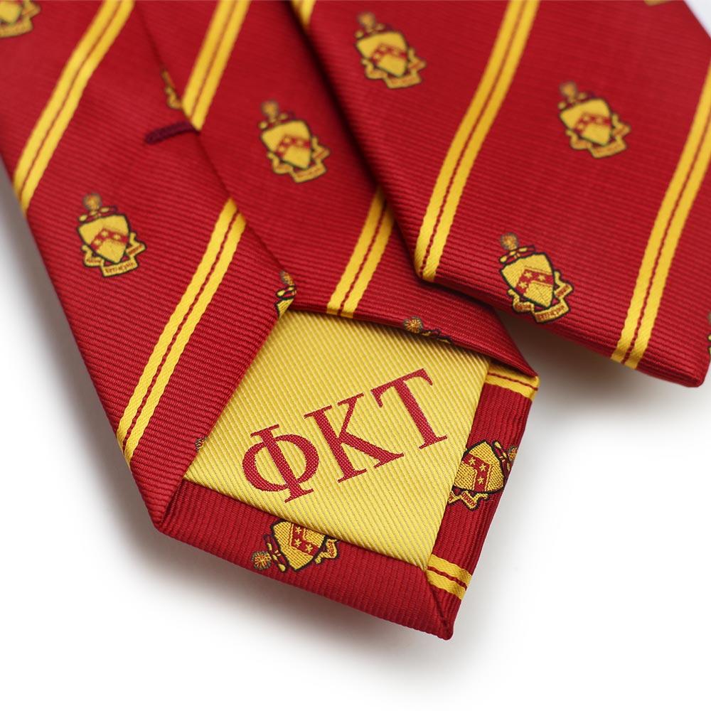 Phi Kappa Sigma Men's Skinny Necktie Back