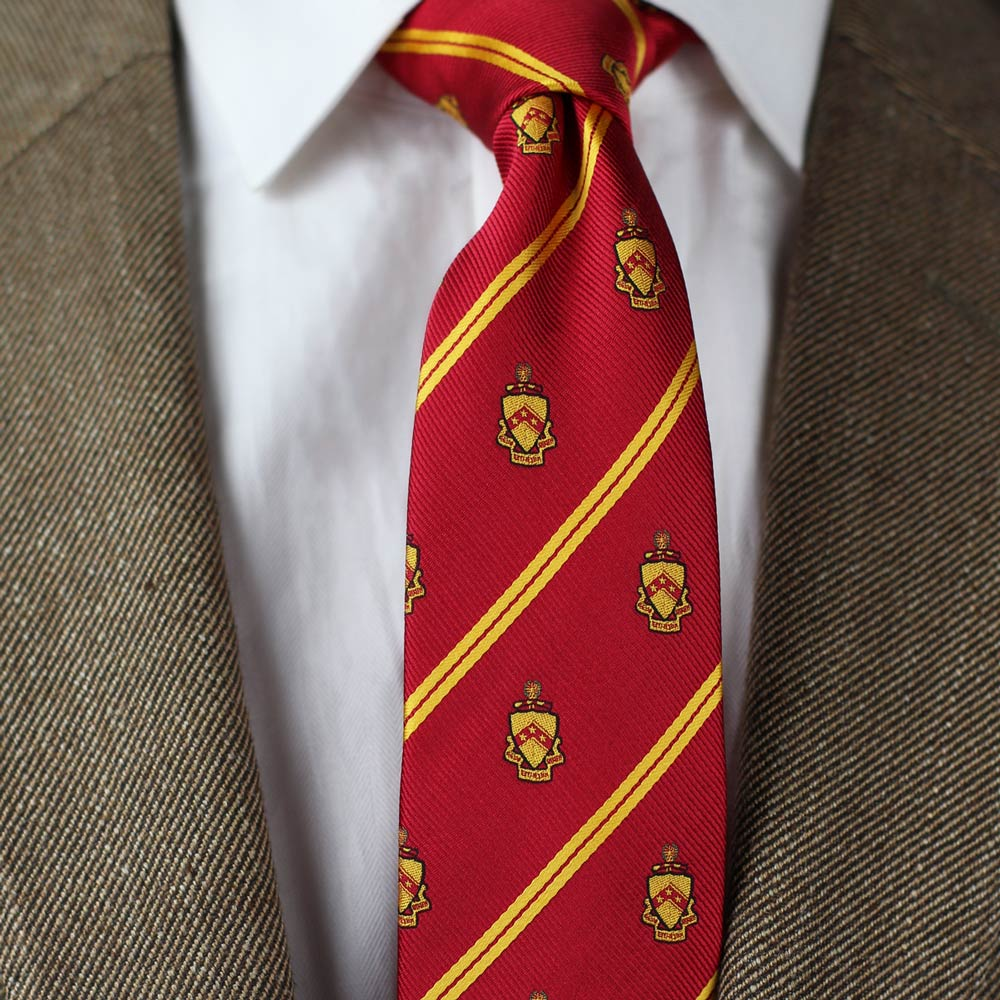 Phi Kappa Sigma Men's Skinny Necktie Styled
