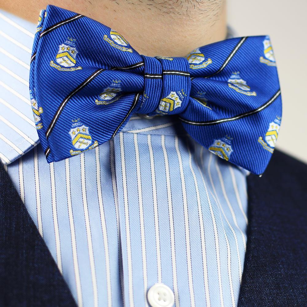 Pi Kappa Phi Men's Pre-Tied Bow Tie Styled