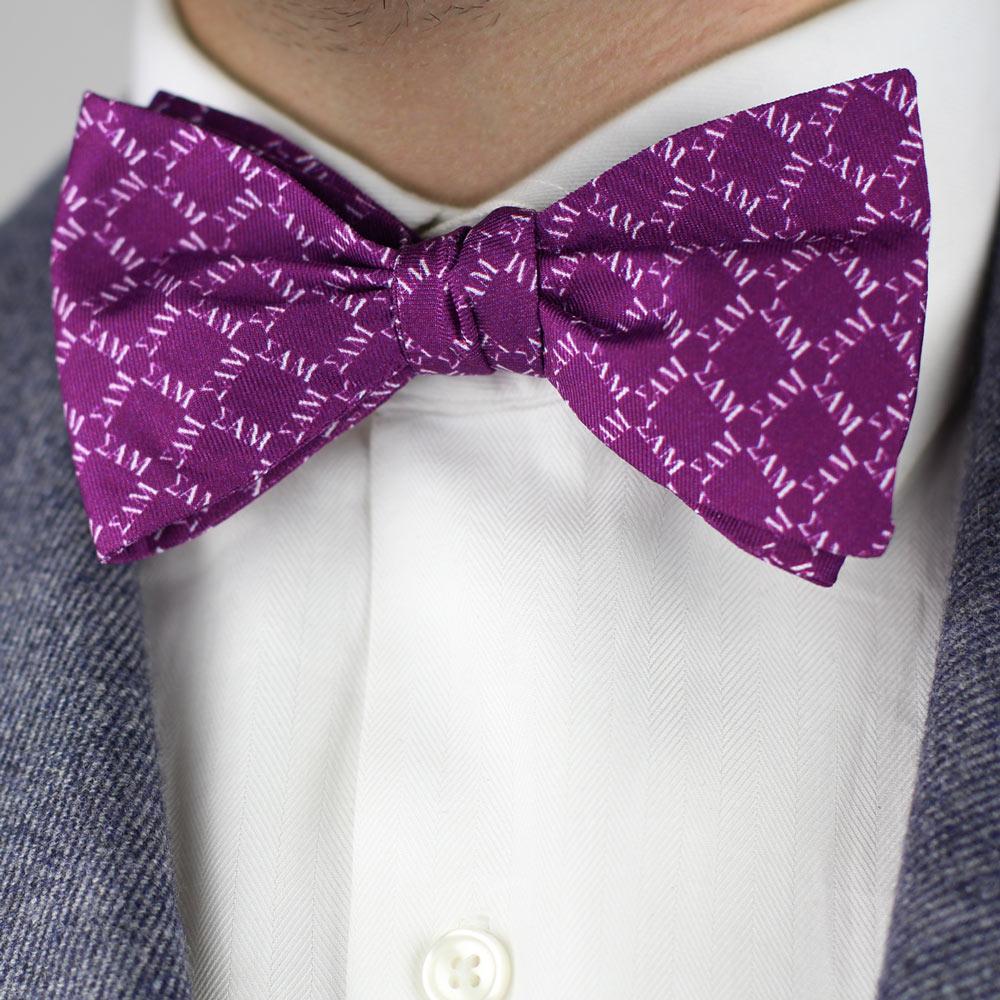 Sigma Alpha Mu Men's Bow Tie Styled