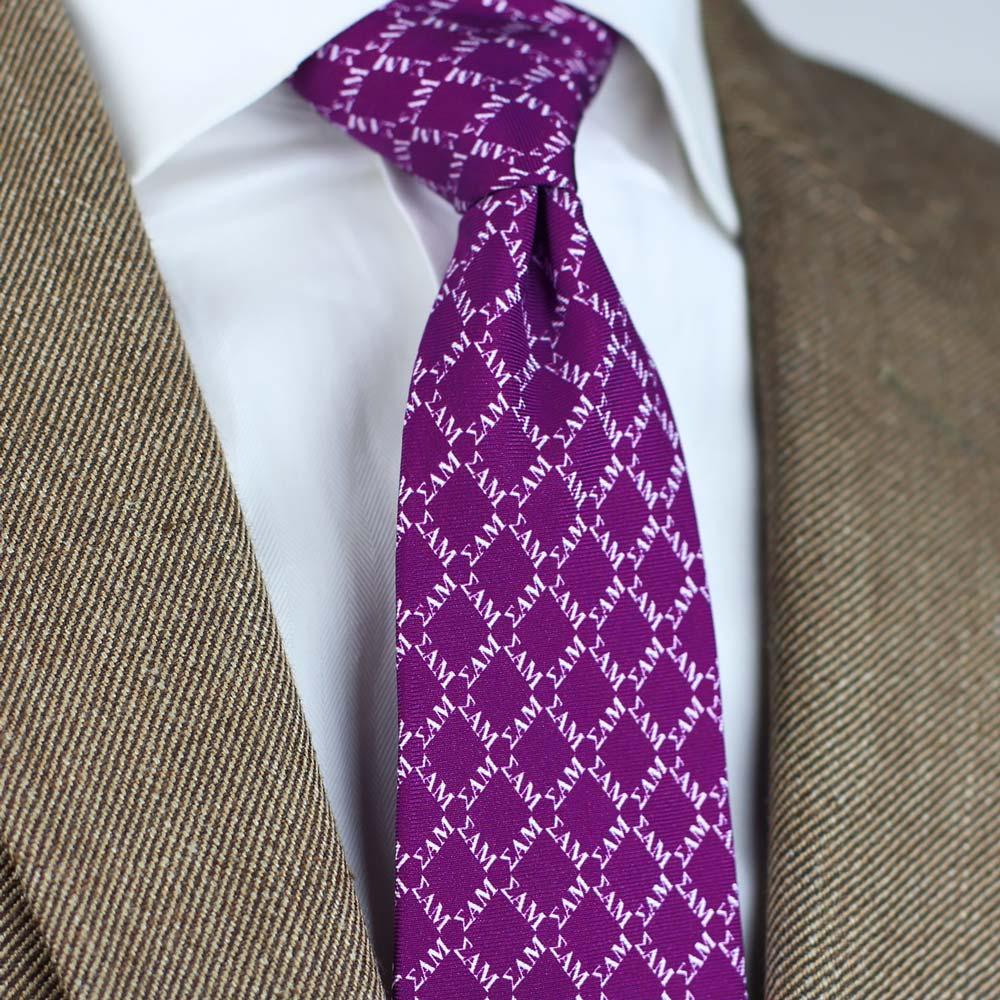 Sigma Alpha Mu Men's Necktie Styled