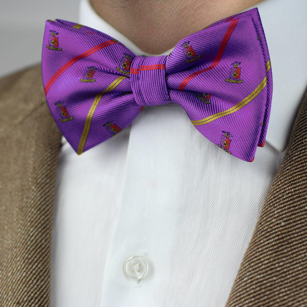 Sigma Phi Epsilon Men's Pre-Tied Bow Tie Styled