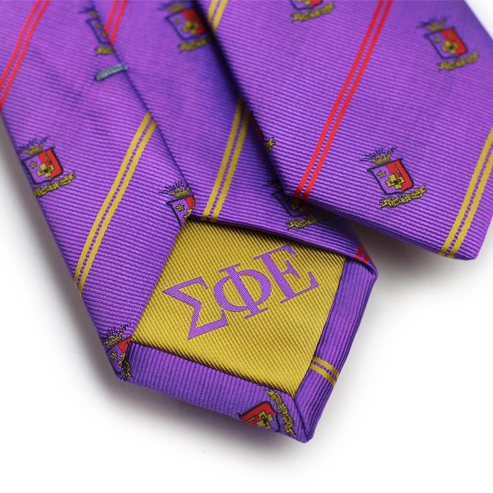Skinny Sigma Phi Epsilon Fraternity Tie Bows N Ties Com