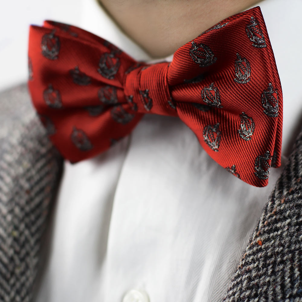 Tau Kappa Epsilon Men's Pre-Tied Bow Tie Styled