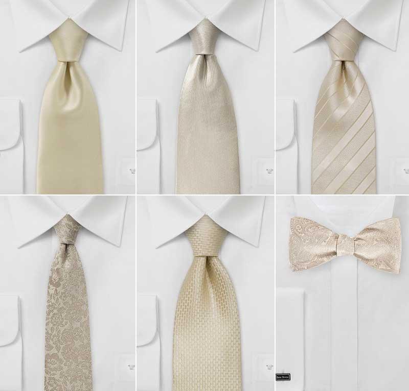 Designer Vintage Wedding Ties