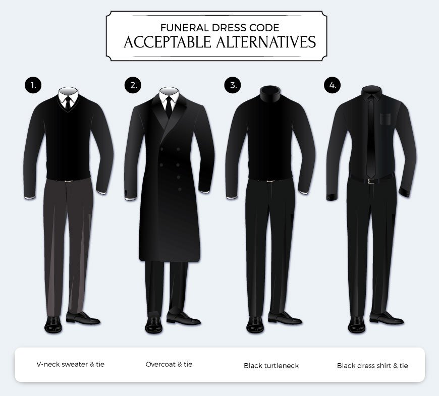 Mens Funeral Dress Code Options