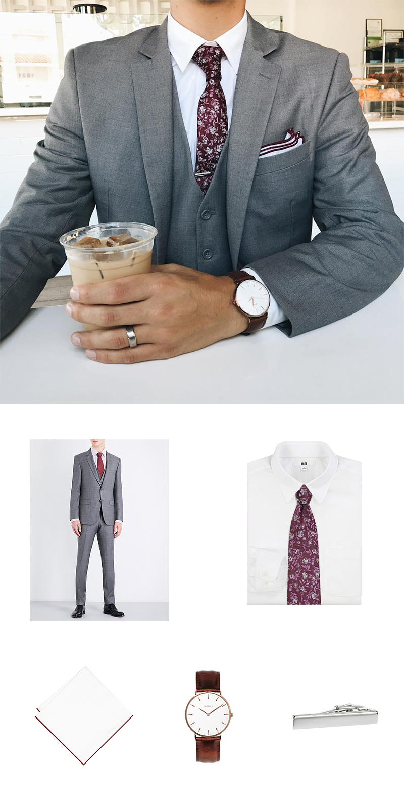 How To Wear a Floral Tie