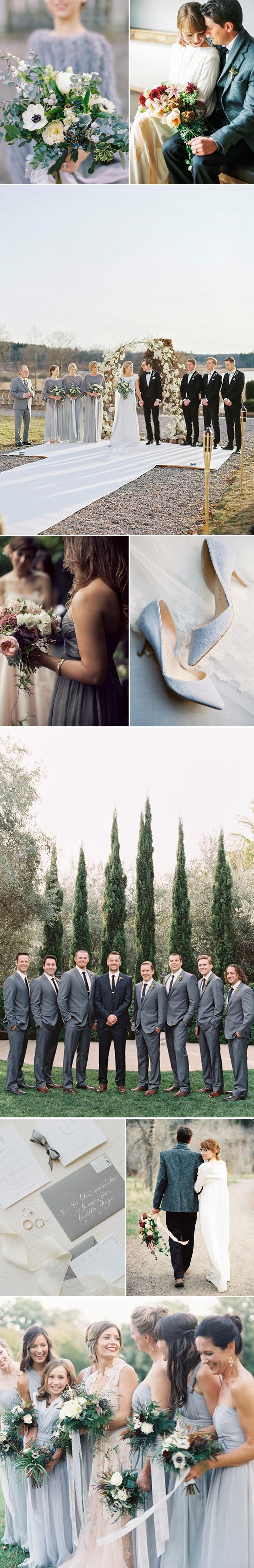 Winter Gray Weddings