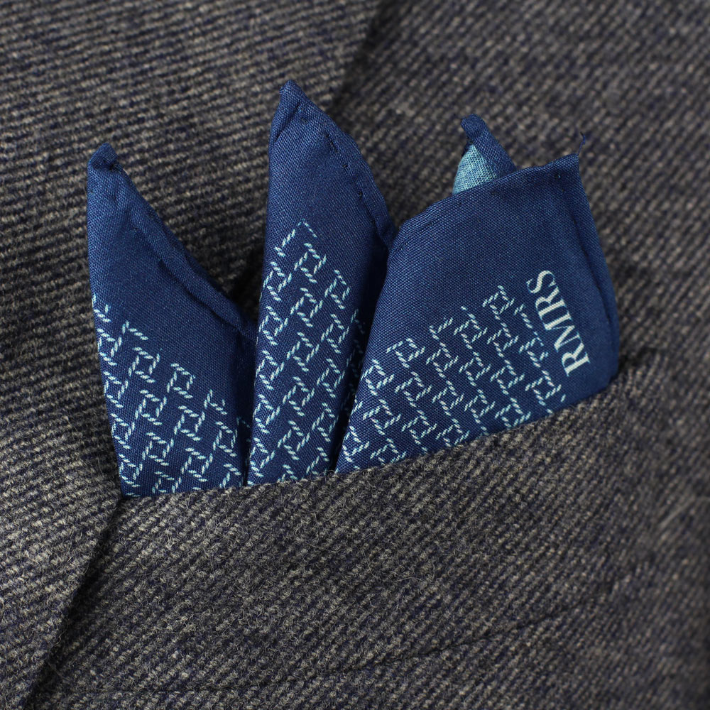 limited production cotton pocket square