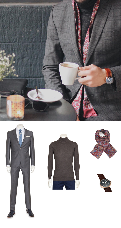 Designer Menswear Scarf
