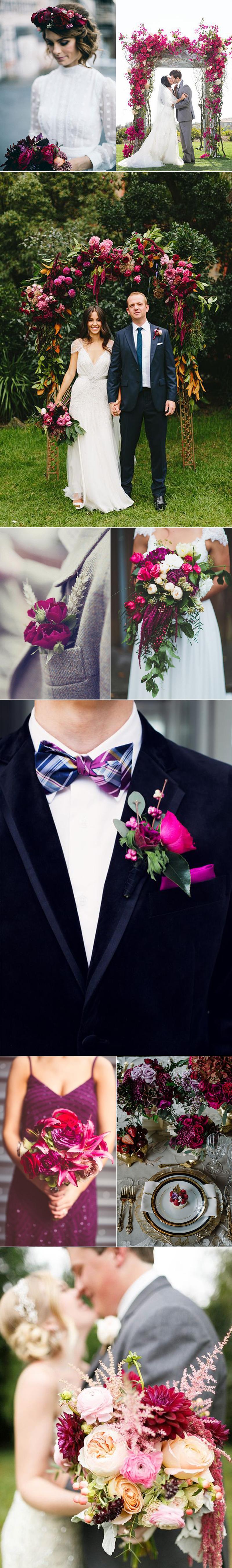 Magenta Wedding Ideas