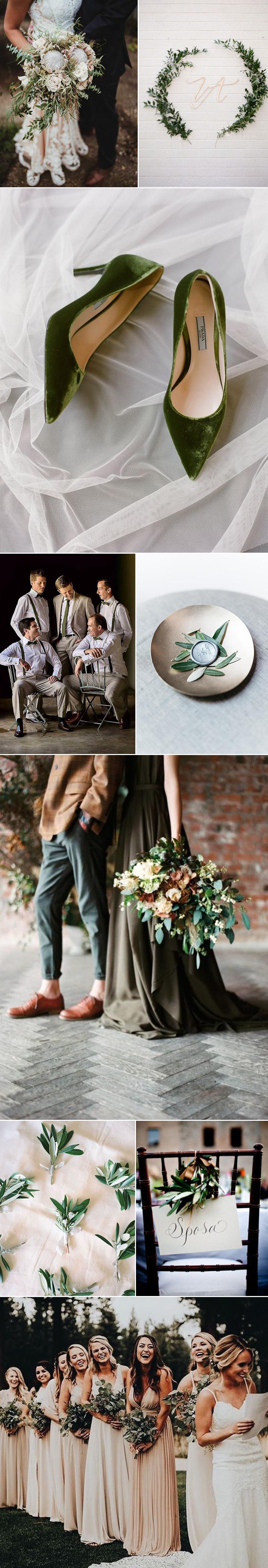 Stunning Wedding Ideas in Olive