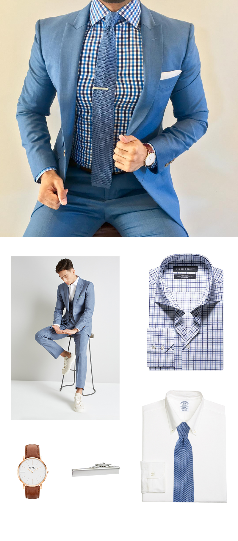 Best Blues in Menswear