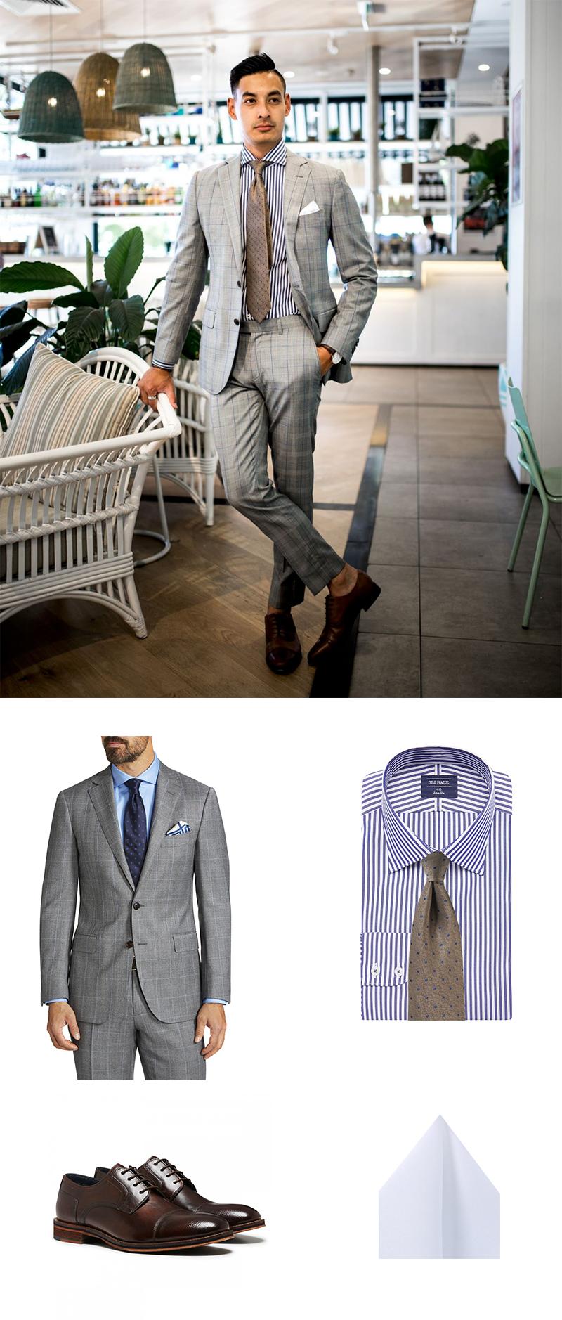 Designer Menswear Accessorizing