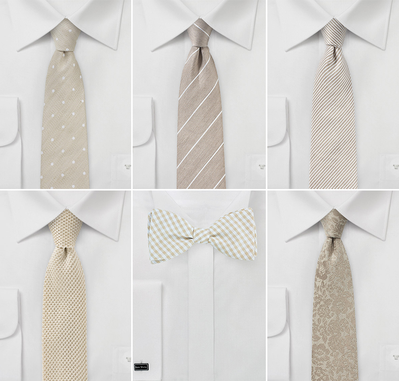 Hipster Approved Wedding Ties
