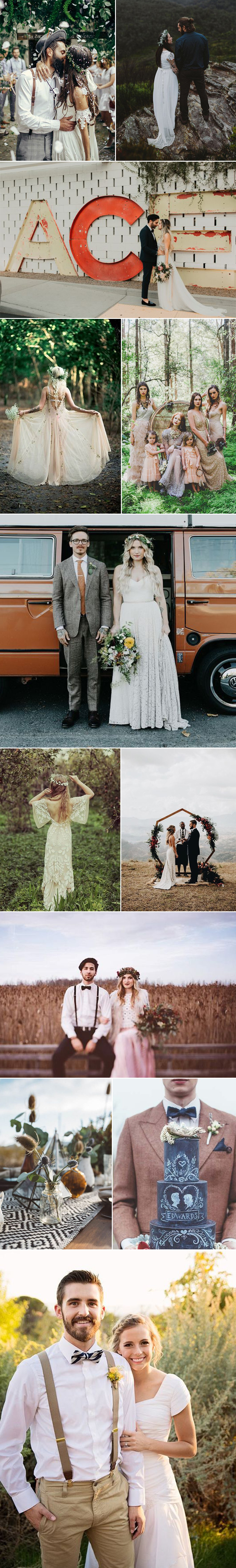 Hipster Wedding Inspiration