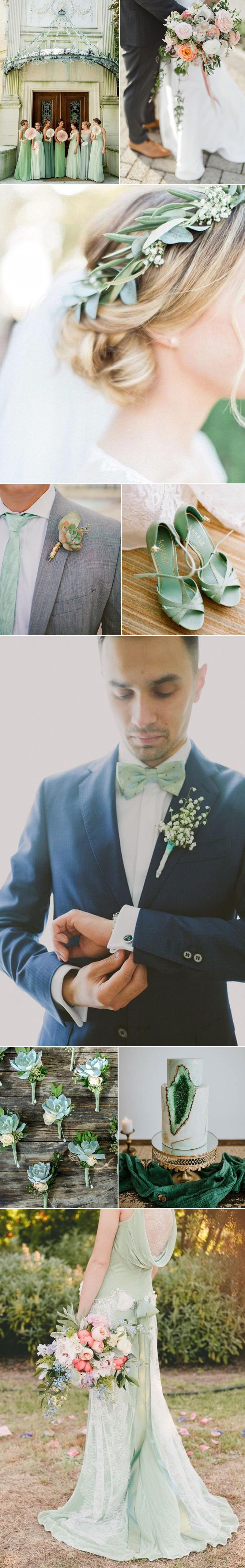 Wedding Ideas in Mint