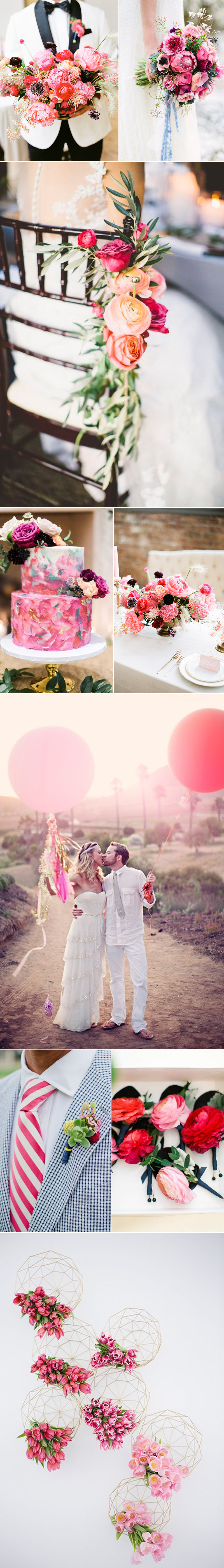 All Pink Wedding Ideas