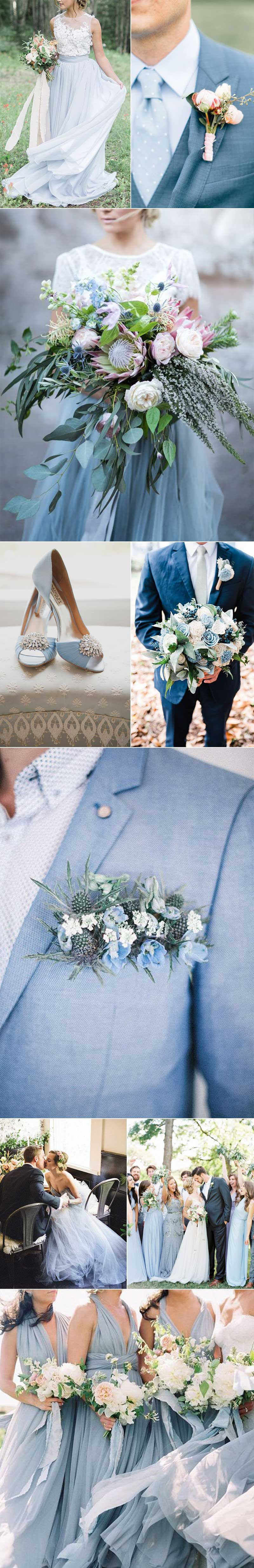 Sky Blue Spring Weddings