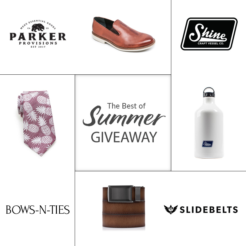 Men's Summer Giveaway