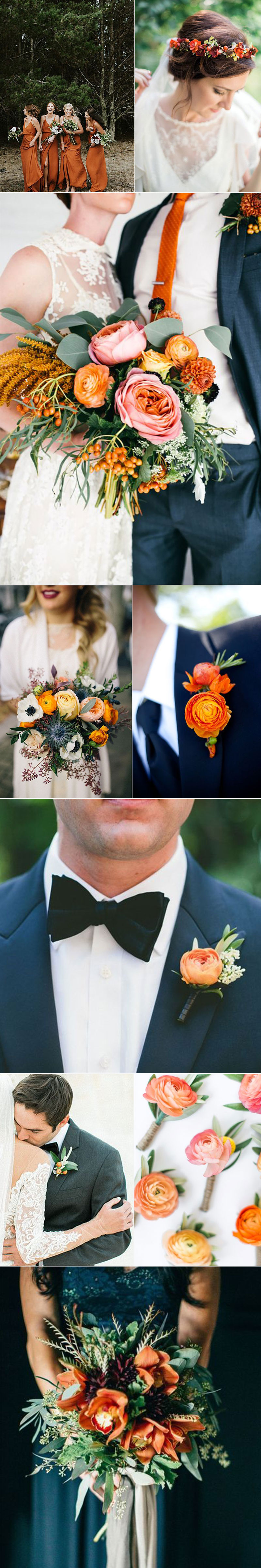 Summer Orange Wedding Ideas