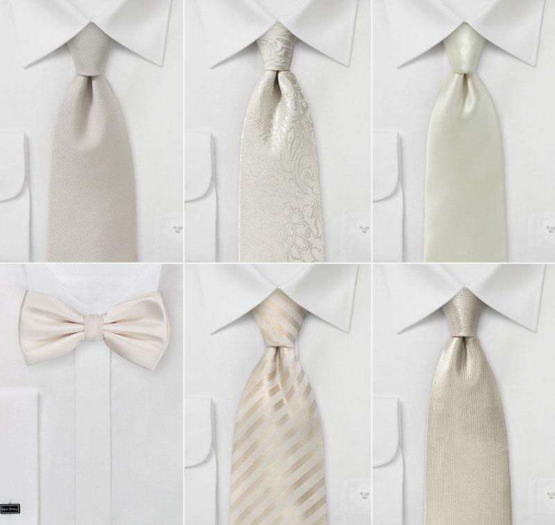 Wedding Accessories in Vintage Whites