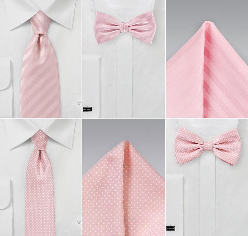 Pastel Pink Wedding Accessories