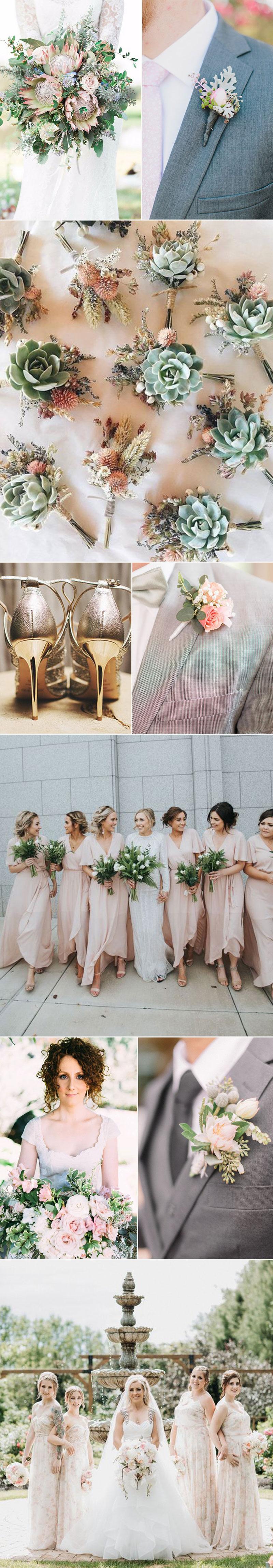 Pastel Pink Weddings