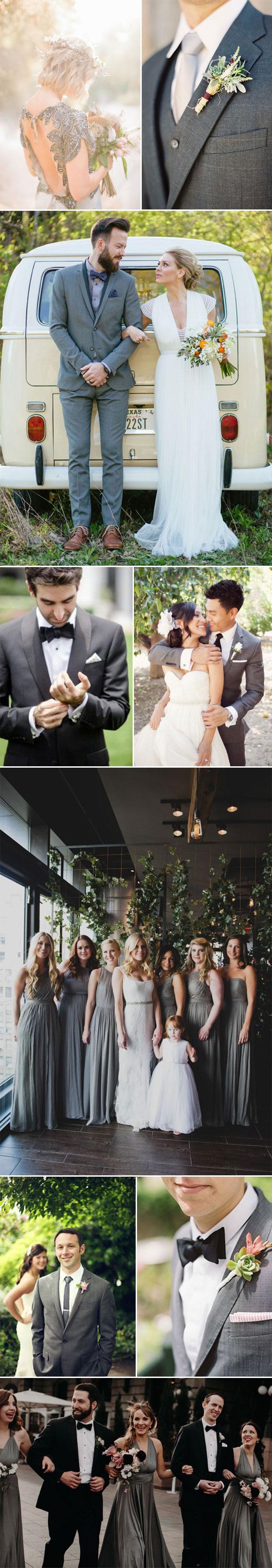 Charcoal Wedding Inspiration