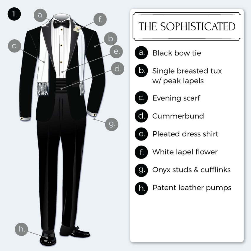 Black tie optional dress code guide bows n ties sophisticated black tie attire junglespirit