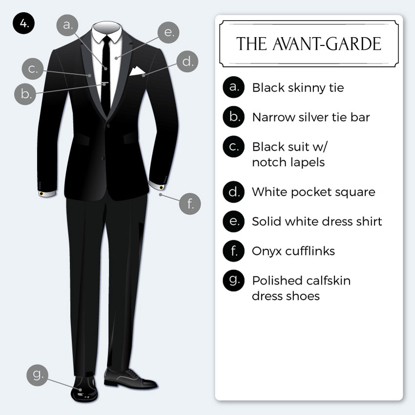 avantgarde-black-tie-dress