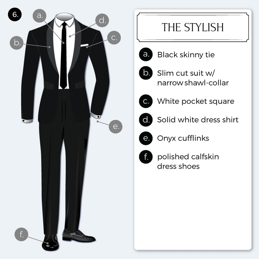 Lastest Black Tie  Formal