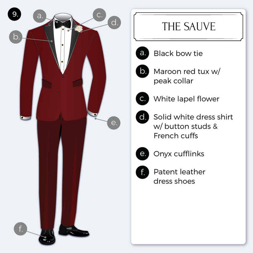 Suave Black Tie Dress Tips
