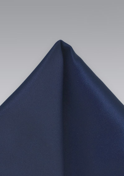 Dark Royal Blue Handkerchief