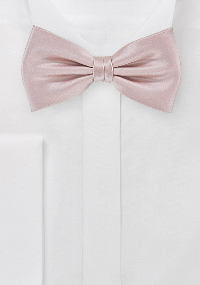 9d93342fb0ae Men's Solid Color Bowtie in Blush Pink | Bows-N-Ties.com