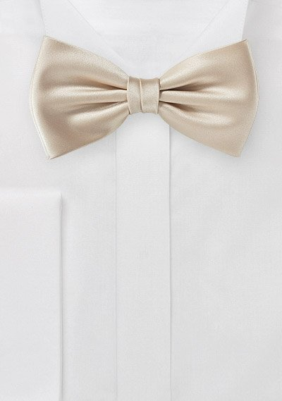 1a36b50d22f1 Golden Champagne Colored Bow Tie | Bows-N-Ties.com