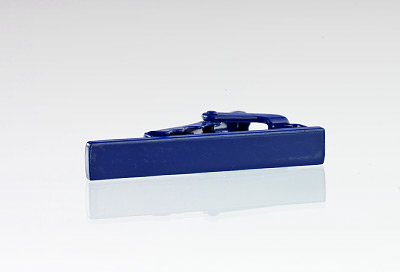 Narrow Tie Bar in Royal Blue