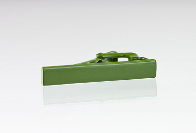 Grass Green Colored Tie Bar